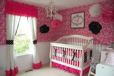 pink baby room - Designing A Nursery That Will Grow Up With Your Baby