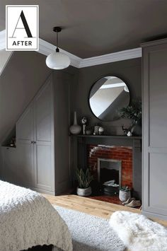 Before & After: A Fantastic IKEA Hack in a Cozy, Cocoon-Like Bedroom