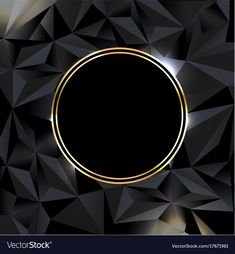 Black background with ball gold banner vector image Banner Background Images, Background Design Vector, Glitter Background, Luxury Background, Best Banner Design, Black And White Photo Wall, Gold Banner, Beautiful Flowers Wallpapers, Instagram Logo