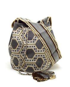 Sophie Anderson Handwoven Cotton Shopper Bag
