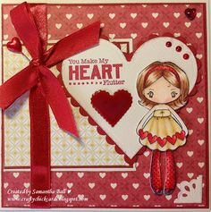 Craftychick Cards: Hearts, Hearts Everywhere