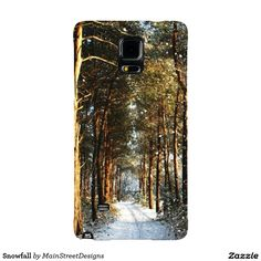 Snowfall Galaxy Note 4 Case