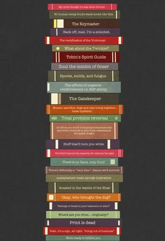 Ghostbusters stacked books Art Print