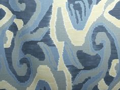 Linen fabric with graphic pattern ARTWORK by Dedar