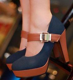 af5617f1056756 CooLcept women fashion sexy footwear platform heels pumps high heel shoes  P2583