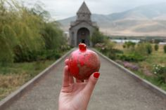 Great article about what the pomegranate symbolizes in Armenian culture.