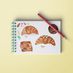 Croissants, biscuits, macaroons! Absolute love! by Quirky Daniela