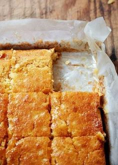 """Buttermilk Cornbread Recipe (""""Wow!"""" """"Heavenly."""" """"The best cornbread we've ever had."""" """"Almost like eating cake."""" """"It is so worth the calories!"""" """"Stop me before I make another!"""" That's what folks are saying about this buttermilk cornbread recipe. Sorta makes you want to drop everything and run to the kitchen to try it, doesn't it? Those are good instincts. Follow them.)"""