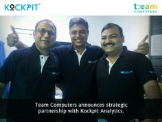 With this partnership, Team Computers becomes a Kockpit registered business partner, enabling it to provide Kockpit software expertise and implementation to its clients.