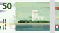 Snøhetta's designs for Norway's new banknotes are a pixellated haven