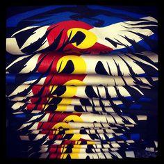 Colorado love #neversummer #colorado #denver #screenprint #fashion #apparel #printing