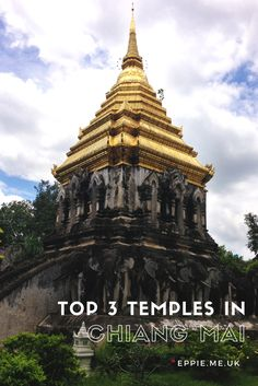 A guide to the top 3 must see temples in Chiang Mai, Thailand. Including Wat Chiang Man.