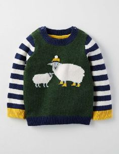 Baby Boden Logo Jumper Wellington Green Marl/Sheep Baby Your little one will woof, baa and waddle with joy at our animal jumpers. These classic knitwear designs have long stripy sleeves and sweet 3D detailing to delight curious tiny fingers. Were even utte http://www.MightGet.com/january-2017-13/baby-boden-logo-jumper-wellington-green-marl-sheep-baby.asp