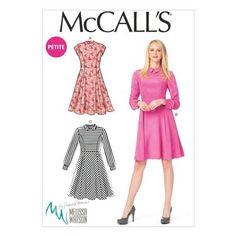McCalls M6989 Miss Petite Dresses   Spotlight Australia