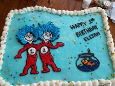 thing one thing 2 cake - Google Search