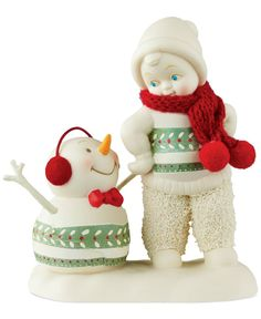 Department 56 Christmas Sweaters Snowbabies Collectible Figurine