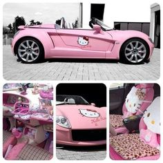 Hello kitty .....car @Andrea / FICTILIS / FICTILIS Black