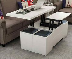 Cheap folding tea table, Buy Quality table table directly from China stool with storage Suppliers: Folding elevating table and table. Scale multi-functional storage tea table with stools