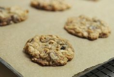Crispy, chewy, buttery, melting chocolate and oats. This may be the perfect cookie. Thanks to FOOD52 and Merrill Stubbs.