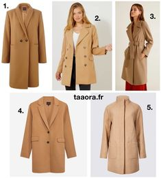 a6ce38c3901b9 Manteau camel femme   5 manteaux chics et intemporels – Taaora – Blog Mode,  Tendances, Looks