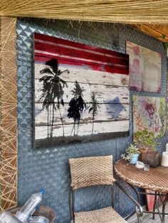 Awesome reclaimed wood art - TJ would like this one...