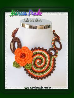 Colar Caracol  https://www.facebook.com/messages/100000566821939#!/MarciaPradoArteComAmor