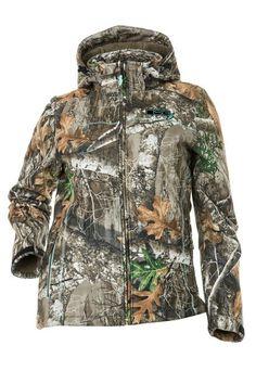 New SHE Outdoor Camo Womens Rain Jacket Safari Size 2XL Realtree AP Hunting $120
