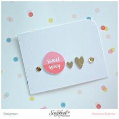 Karte Sweet & Spicy - Scrapbook Werkstatt Juli Kit 2015 - designed by Alexandra Boehnke (Tandi-Works)SBW Juli Kit ist auf dem Weg!