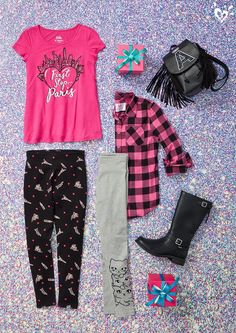 Shop cute & colorful tween girl outfits with the latest in clothing at Justice! Trendy Outfits, Kids Outfits, Summer Outfits, Cute Outfits, Tween Fashion, Fashion Outfits, Jojo Siwa Outfits, Justice Clothing, Tween Girls