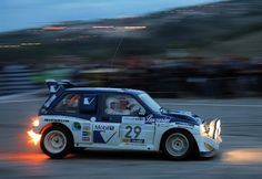 MG Metro 6R4 rally car