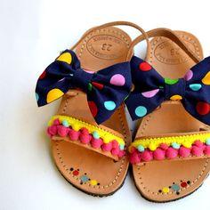 Handmade baby sandal smarties