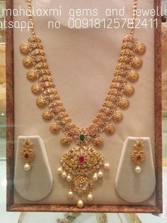 Top kasulaperu necklace designs in Gold Gold Earrings Designs, Gold Jewellery Design, Necklace Designs, Gold Haram Designs, Gold Necklace Simple, Gold Jewelry Simple, Light Weight Gold Jewellery, Mango Mala, Jewelery