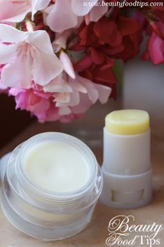 DIY Natural Homemade Stick & Cream Deodorants - Beauty Food Tips