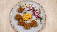 Rezept von Andreas Wojta   35 Minuten/leicht Andreas, Onion, Mustard, Cooking Recipes, Kochen