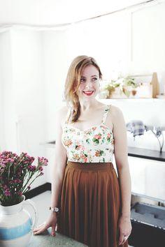 Brooke Manning | Boots & Pine | boho prairie skirt and crop top
