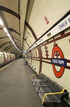 CHALK FARM TUBE STATION | CHALK FARM | CAMDEN | LONDON | ENGLAND: *London Underground: Northern Line*