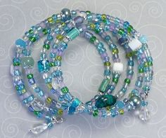 'By the Ocean Shore Wrap Bracelet' is going up for auction at 11pm Sun, Jul 29 with a starting bid of $10.
