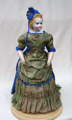 French Fashion Doll, 1870s-1880s