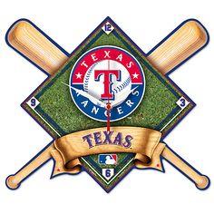 Texas Rangers Clock