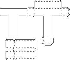 Resultado de imagen para moldes de la s letras 3d grandes