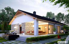 Projekty domów ARCHIPELAG - Daniel G2