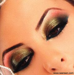 Arab Hair And Makeup 3 by kuwaitbutterfly, via Flickr