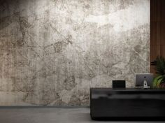 "Wallcovering Ethnic Natural Surfaces: ""Gobi"" by Glamora Vinyl Wallpaper, Washable Wallpaper, Modern Wallpaper, Architectural Materials, Old Wall, Wall Finishes, Minimalist Interior, Wall Treatments, Wall Murals"