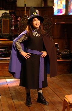 Miss Cackle's Academy for Witches uniform in The New Worst Witch