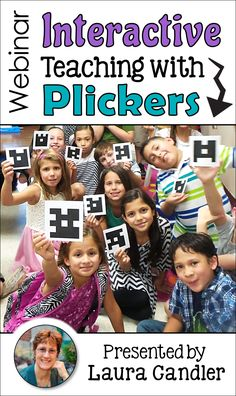 Plickers is an amazing, free formative assessment tool and so much more! Sign up for this free webinar to learn how to use Plickers to teach interactively and boost achievement in any subject area!