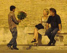 Meg Ryan and John Mellencamp get handsy in Rome