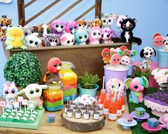 Beanie Boos Party details to love.. ♥ Adorable Beanie Boos cupcakes ♥ Beanie Boos cookie pops ♥ Spectacular collect and display of Beanie Boos ♥ Beanie Boos party favors ♥ Concept & Styling By – Caraminholando –  – Atelier de Festas, Brazil  Photography – Andressa Monteiro This party is just the sweetest idea for any one who … Read more...