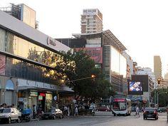 BUENOS AIRES, ARGENTINA (Belgrano) - Calle Juramento/ БУЭНОС-АЙРЕС, АРГЕНТИНА (Бельграно)  - улица Хураменто