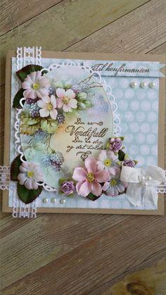 du er verdifull I Card, Cardmaking, Diy And Crafts, Bee, Decor, Craft, Blogging, Decoration, Making Cards