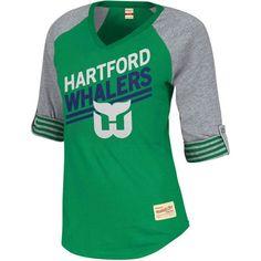 0dfccd32d Mitchell   Ness Hartford Whalers Ladies Comeback Premium T-Shirt Hartford  Whalers